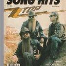 Song Hits Magazine Vol 50 No 243 May 1986 ZZ Top Asia Hooters Cameo Ricky Skaags