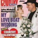 Country Weekly Magazine Feb 13 1996 John Michael Montgomery Country Valentines
