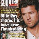 Country Weekly Magazine Nov 26 1996 Billy Ray Cyrus Johnny Cash