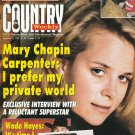 Country Weekly Magazine Nov 5 1996 Mary Chapin Carpenter Wade Hayes Willie