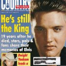 Country Weekly Magazine Aug 13 1996 Elvis He's still the King Dwight Yoakum