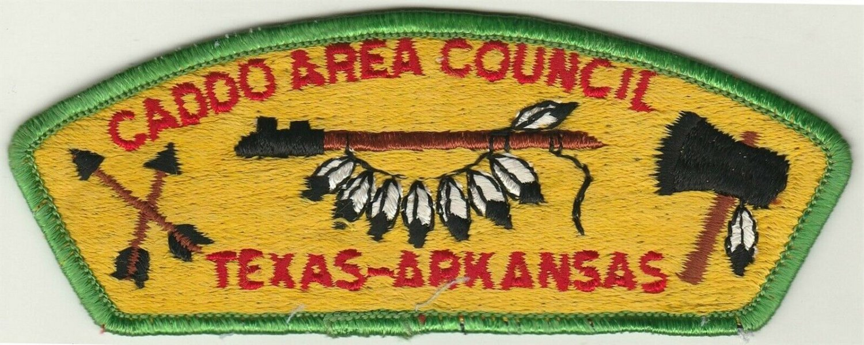 BSA 1970's Caddo Area Texas-Arkansas - CSP S1 - slight flaw in feathers