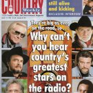 Country Weekly Magazine Mar 12 1996 Why can't hear country's stars on the radio?