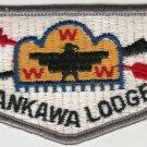 BSA 1970's OA Lodge 307 Karankawa - S21 Gry bdr Blk ltrs