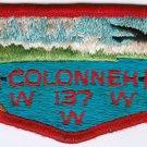 BSA 1970's OA Lodge 137 Colonneh - S4 flap patch