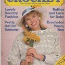 Quick & Easy Crochet Volume II Issue 4 Jul-Aug 1987 crochet patterns