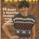 Hooked on Crochet! Number 16 Jul-Aug 1989 crochet patterns