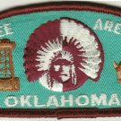 BSA 1970's Cherokee Area Council Oklahoma CSP T2 council shoulder patch