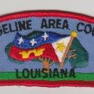 BSA 1970's Evangeline Area Council Louisiana CSP T1 council shoulder patch - 2