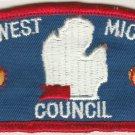 BSA 1970's Southwest Michigan Council - CPS T2 council shoulder patch