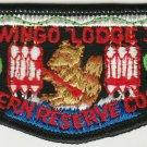 BSA 1970's OA Lodge 368 Tapawingo - S3a Flap Patch