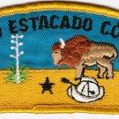 BSA 1970's Llano Estacado Council - CSP T1b council shoulder patch