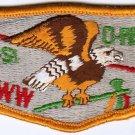 BSA 1970's OA Lodge 162 Mi-Gi-Si O-Paw-Gan - S5a flap patch