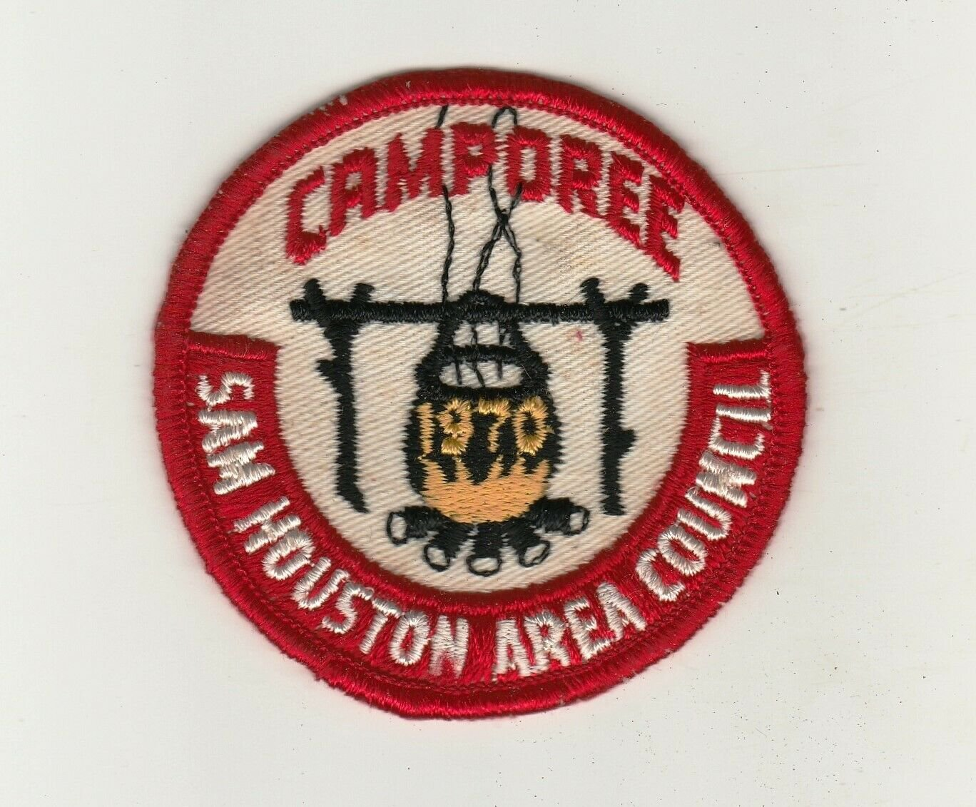 BSA 1970 Sam Houston Area Council Camporee patch