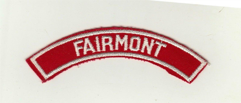 BSA 1970's RWS Community Strip - Fairmont shoulder patch