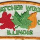 BSA 1970's Thatcher Woods Area Council Illinois - CSP T1 council shoulder patch