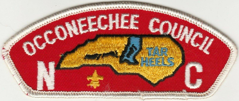 BSA 1970's Occoneechee Council NC CSP T1 council shoulder patch