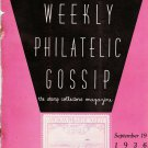 Weekly Philatelic Gossip September 19, 1936 Stamp Collecting Magazine