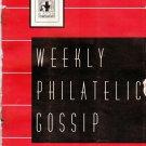 Weekly Philatelic Gossip March 13, 1937 Stamp Collecting Magazine
