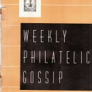 Weekly Philatelic Gossip September 26, 1936 Stamp Collecting Magazine