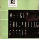 Weekly Philatelic Gossip March 20, 1937 Stamp Collecting Magazine