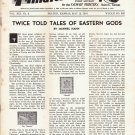Weekly Philatelic Gossip May 12, 1934 Stamp Collecting Magazine