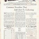 Weekly Philatelic Gossip January 14, 1933 Stamp Collecting Magazine