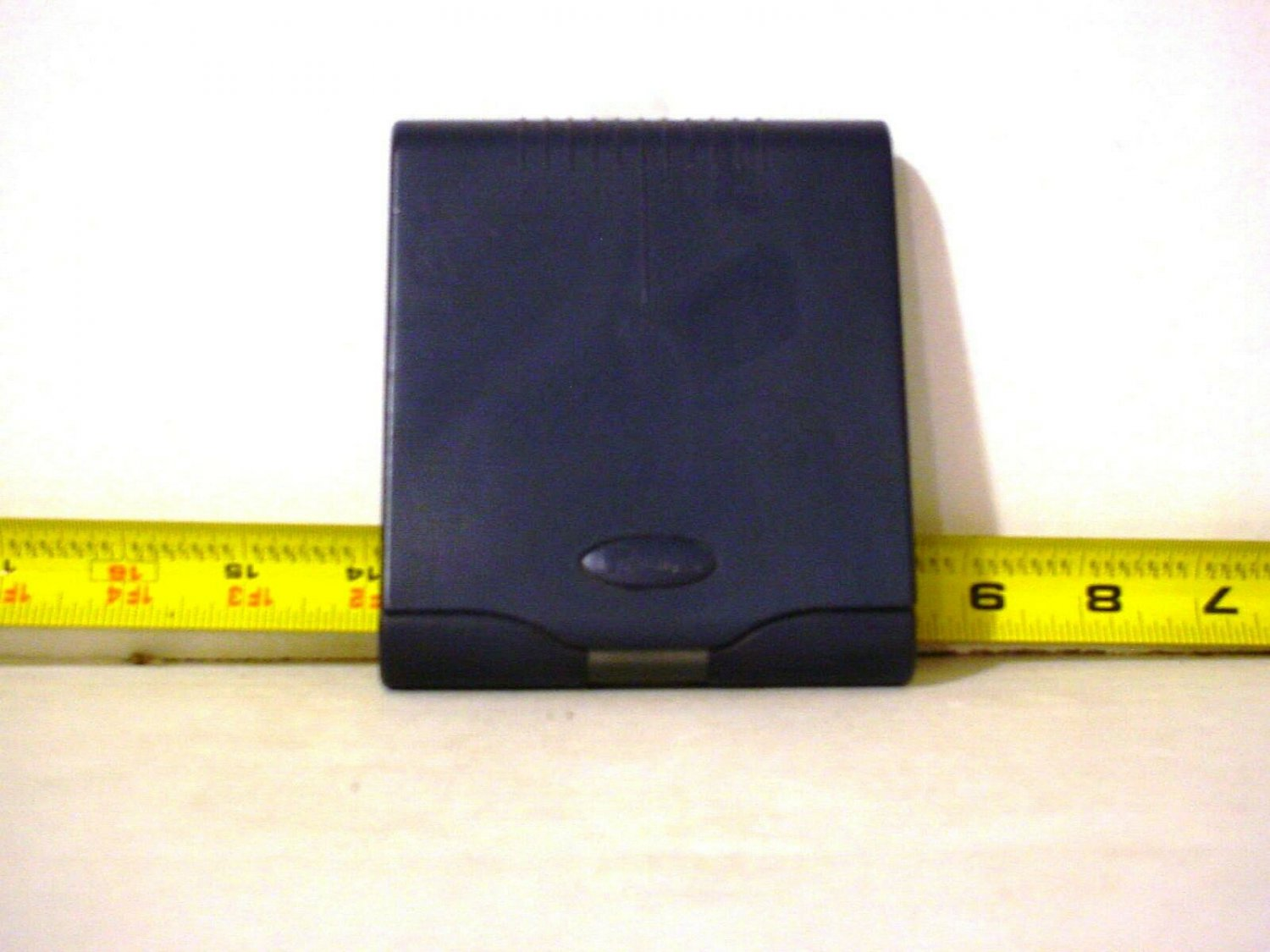 2 Iomega Zip 100MB Disks and 3 disk storage container