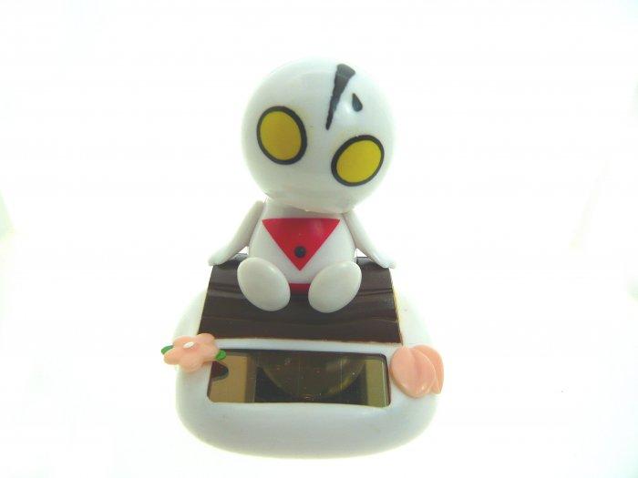 cute solar power powered shake sway swing ultraman toy decoration gift