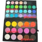 New 28 color eye shadow 15 blusher palette makeup kit set