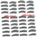 40 pairs False black voluminous long eyelashes fake eye lash makeup