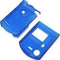 Pantech C300 Transparent Blue Shield Protector Case