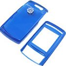 Samsung T629 Blue Transparency Shield Protect case w/ Clip