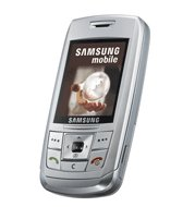 Samsung E250 Silver GSM World Cell Phone