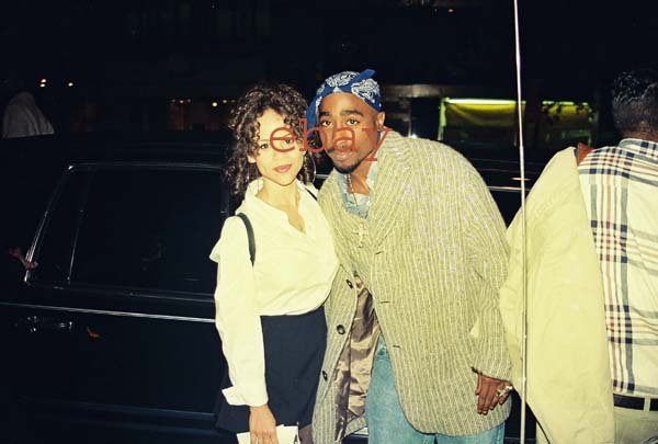 2pac Tupac Shakur Candid Color Photo LOT 6 Rosey Perez Celebrity
