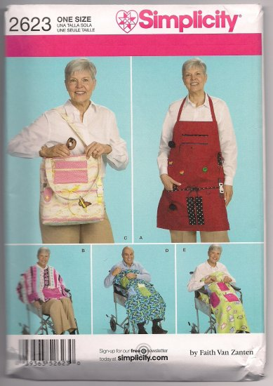 Wheelchair Accessories, Cape and Apron for Adults, Simplcity 2623
