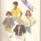 1976 Vintage Simplitiy 7598 - Misses Unlined Jackets - Nice Details - Vintage size 16-18