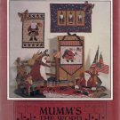 Star Spangled Santas - Mumm's the Word Wall Hanging Patterns
