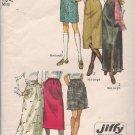 Vintage Simplicity 9099  Misses Skirts Sz. 18