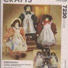 Heirloom Dolls - Mccalls 7230