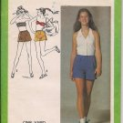 1 Yard Tops and Shorts - Vintage Simplicity 9320 - Size 11/12 - Juniors