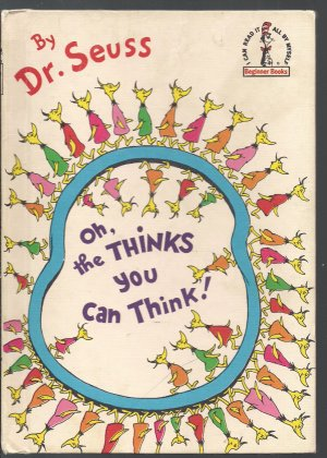 Oh The Thinks You Can Think  Vintage -Dr. Seuss 1975