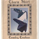 Charm Shirt -Country Creations 1989 Lorraine Stangness Pattern