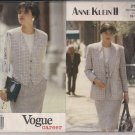 Vintage Vogue Career 2529 Anne Klein II Womens Separates Sz. 12
