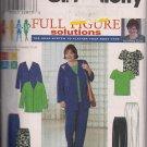 Simplicity 8651 Full Figure -Jacket,Top,Pants,Skirt Sz. 18W-24W