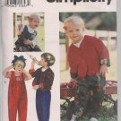 Simplicity 9138 -Very Sweet  Toddlers Jacket, Jumpsuit, Top Sz. 1-4