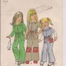 Vintage Simplicity 7277 Childs Jumpsuit - Size 5 - Out of Print