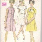 Vintage simplicity 8189 Misses Dress - 1969 - Sz. 10