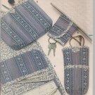 Vintage Butterick 4943 Checkbook Cover Eyeglass Case Makeup Bags Etc