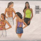 Butterick 3029 -Summer Tops  for Teens, Misses  Skin - Sz. 6, 8, 10